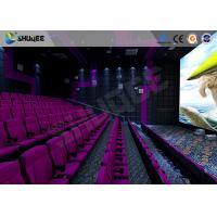 Quality 3D Glasses / 3D Film Movie Theater Seats Environment Effect Vibration Cinema Chairs wholesale