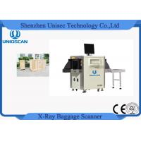Quality Small Size Single Energy x ray baggage scanner machine Tunnel Size 500*300 wholesale