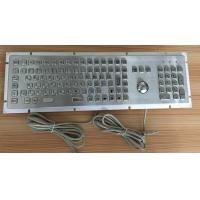 Quality Russia language metal keyboard with mouse wholesale