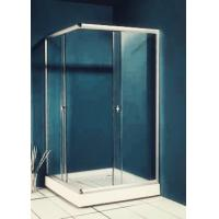 Buy cheap 77 inch 900x900 Square Shower Enclosure , Enclosed Shower Cubicles Top Double Rollers from wholesalers