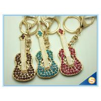 Quality Custom Musical Keychains Guitar Shape Keychain New fashion gift metal cute keychain wholesale