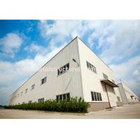 Anti Rust Prefabricated Steel Warehouse Light Structure Wind Resistance