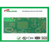 Quality Green Htg 12 Layer FR4 PCB Printed Circuit Board 3.8mm Thickness wholesale