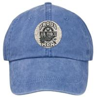 Quality Adjustable Velcro Buckle Light Blue Embroidered Baseball Caps Hats For Men wholesale