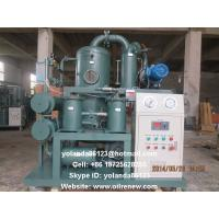 Quality High Vacuum Transformer Oil Processing, Dielectric Oil Purification, Oil Regeneration Unit wholesale