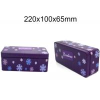 Metal Storage Custom Packaging Boxes 1L Rectangle Tin Boxes For Engine Oil