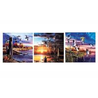 Quality Nature & Landscape Mounted Art Print 3d Lenticular Image For Decoration 120x40cm wholesale