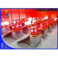 Quality AH-MS/D dual aluminum material red emitting solar aviation light wholesale