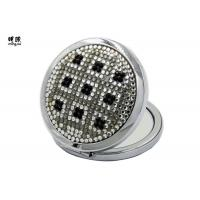 Quality Magnifying Feature Bling Silver Plated Compact Mirror Wedding Favours wholesale