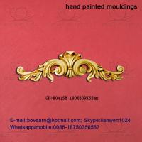 Quality High density delicate pu veneer pu accessories / PU Wall hanging decoration wholesale