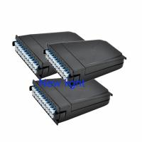 Quality MTP MPO Cassette Module With Patch Cord Connector And Corning Fiber Optic Cable wholesale