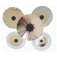 China 4-16 Electroplated Diamond Saw Blades For Glass / Tile / Marble / Stone Cutting on sale