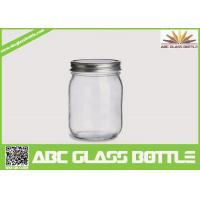 Quality Hot sales mason jars 16 oz glass jars wholesale