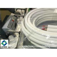 Quality Foam Thermal Insulation Material , 0.8mm Thin Wall Thick Air Conditioning Insulation Pipe wholesale