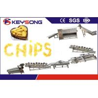 Quality Stainless Steel Potato Chips Processing Machine , Custom Potato Chips Production Line wholesale