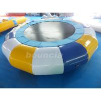 Quality Commercial Grade And Durable Round Inflatable Water Trampoline wholesale