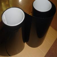 China Heat Resistantthermal resistance insulation Durable Single Side Amber color Adhesive Polyester PET Tape for sale