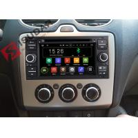 Quality Black Panel Ford Transit Dvd Player , Ford Fusion Dvd Player With Screen Mirroring Function wholesale
