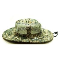 Quality Breathable Vented Mesh Cotton Bucket Hat For Men Camouflaged Patterns Available wholesale