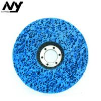 Quality 4 Inch Clean And Strip Disc , Paint Stripping Wheel For Wood Fiberglass Backing wholesale
