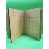 Quality Wooden Color Art Paper Custom Printed Notebooks Sewing Binding Notebook Printing wholesale