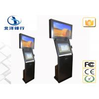 Quality 3G / WIFI / LAN 26 32 Dual Screen Kiosk Interactive Information Kiosk Vandal - Resistant wholesale