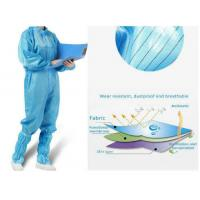 Quality Antivirus Disposable Medical Protective Clothing , Medical Protective Coverall wholesale