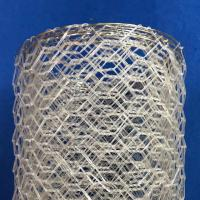 Quality Polyster Hexagonal Chicken Wire Netting for River / Gabion Wire Mesh wholesale