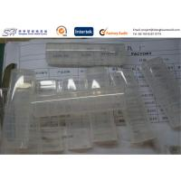 Quality Polymer Injection Molded Plastic Parts , Clear PP plastic storage boxes Top Hinged wholesale
