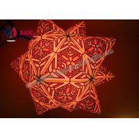 Cheap Customized 2 M diameter Inflatable LED Star Inflatable Balloon Decoration Locations for sale