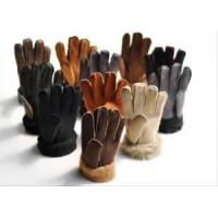 Cheap Fur Leather Glove for sale