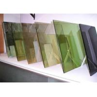 Quality 3mm - 12mm Colored Building Reflective Glass Sheet CE And CSI Certificate wholesale