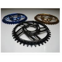 Quality 7075-T6 Aluminum Color Anodized Race Face 104mm Single Chain Ring 4mm Plate Thickness wholesale
