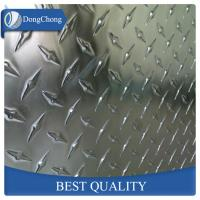 China Metal 5052 5083 Aluminium Checker Plate Sheet For Elevator Flooring on sale