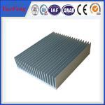 Quality industry aluminum profiles heatsink, OEM customized drawing industrial aluminum heat sink wholesale