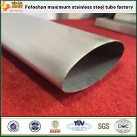 Quality Guangdong Manufacturers Provide Oblong Tube Stainless Steel Special Tube/Pipe wholesale