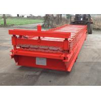 Quality Wall Roofing Sheet Roll Forming Machine IBR Galvanized Steel 18 Stations wholesale