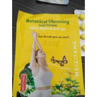 China Good Diet Pills Botanical Slimming Gold Version Soft Capsule Original on sale