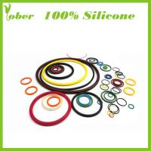 Quality 100% Silicone Custom O Ring Silicon Rubber Sealing Strip Silicone Rubber O Ring For Sealing wholesale