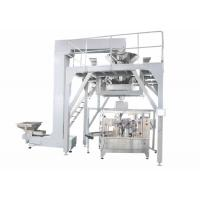 Quality PLC Operated Food Packing Machine , Fully Automated Doypack Packing Machine For Stand Up Pouch Bag With Zipper wholesale