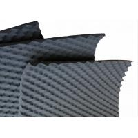Quality 50mm Wavy Acoustic Foam Panels Black High Density Closed Cell Foam For Theatre wholesale
