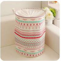 Quality foldable laundry hamper basket with mesh lid wholesale