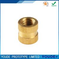 Quality Small Amount Rapid CNC Machining Service Manufacturing Brass Nut Polishing wholesale
