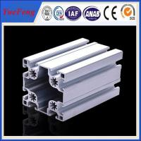 China Matt Silver Industrial custom aluminum extrusion supplier(ISO manufacturer) on sale