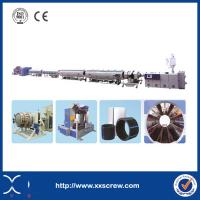 China Effcient Plastic Extrusion Line Three Layer HDPE Pipe Prices on sale