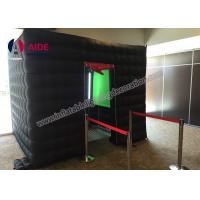 Cheap Customized LED Inflatable Photo Booth Props Portable Spray Booth For Party for sale