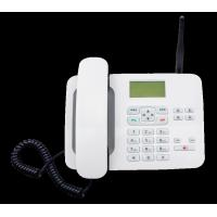 Cheap LTE FKT - 4 4G Fixed Wireless Phone White 4G Feature Phone With 1000mA Battery for sale