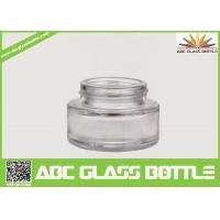 Cheap Best Selling Foundation Bottle Glass Cosmetic Cream Container,Clear Skin Care for sale