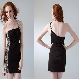 Quality Strapless Taffeta Short Prom Dress (AL20012) wholesale