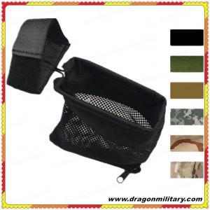 Quality 2017 New design hot sale black tactical Brass Catcher Mesh Bag wholesale